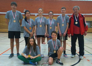 Gauß Badminton 2016